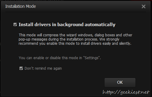 Free Driver Booster Install updates silently