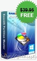 Free EaseUS Partition Master Professional 10