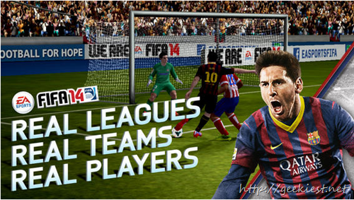 Free FIFA 14 for Android and iOS