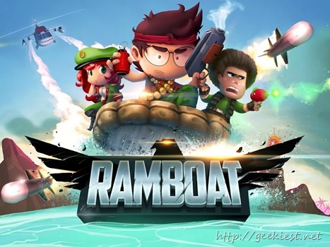 Free Game Ramboat Hero Shooting available on Play Store