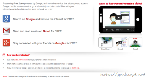 Free Google mobile services