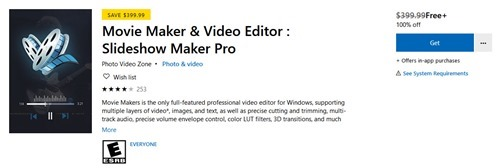 Free Movie Maker Video Editor Slideshow Maker Pro