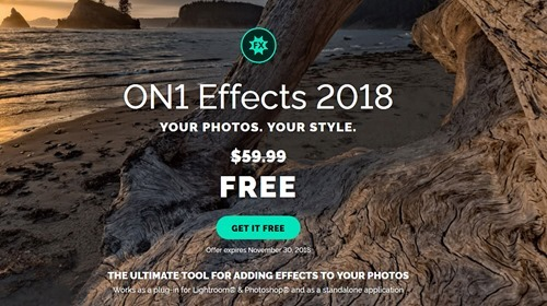Free On1 Effects 2018 worth USD 60
