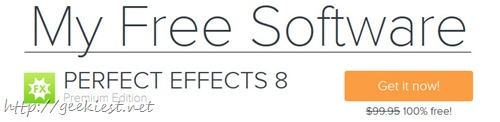Free PERFECT EFFECTS 8 worth USD 99.95