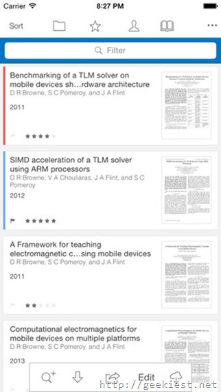 Free Papers 3 for iOS devices