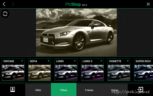 Free PicShop  photo editor