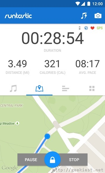 Free Runtastic PRO for Android devices