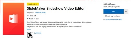 Free SlideMaker Slideshow Video Editor