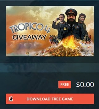 Free Tropico 4 Giveaway