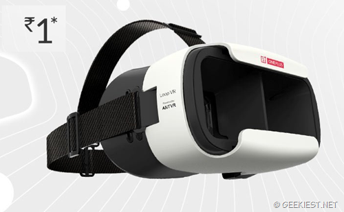 Free VR headset from OnePlus