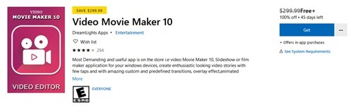 Free Video Movie Maker 10