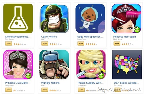 Free android apps and games Amazon