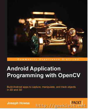 Free eBook - Android Application Programming with OpenCV–just today