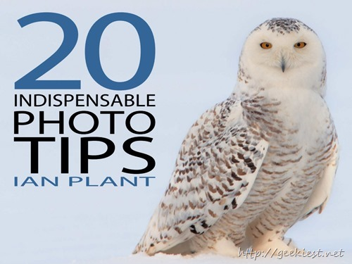 Free eBooks–20 indispensable photo tips