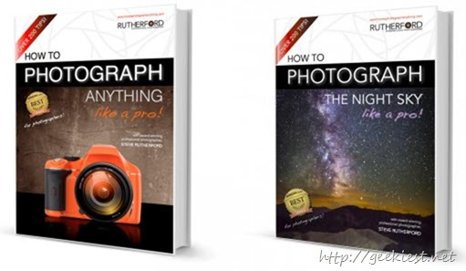Free photography eBooks Kindle Edition worth USD 10.43