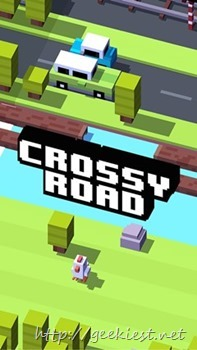 Free windows and Windows Phone game - Crossy Road