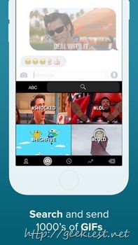 GIF keyboard for iOS Free