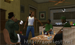 GTA San Andreas - Ryder Carl Johnson Big Smoke and Sweet