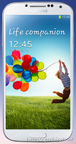 Galaxy S4  - GT-I9500ZWA available in India from today for 41500