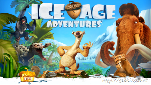 Gameloft Ice Age Adventures Windows Phones and Android 3