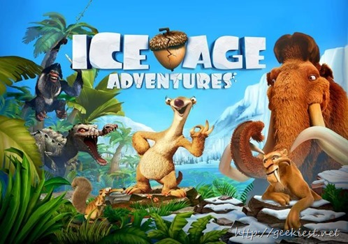 Gameloft Ice Age Adventures now available for Windows Phones