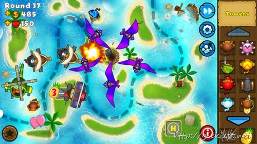 Get Bloons TD 5 for your iOS devices for Free
