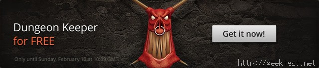 Get Dungeon Keeper for free from GOG