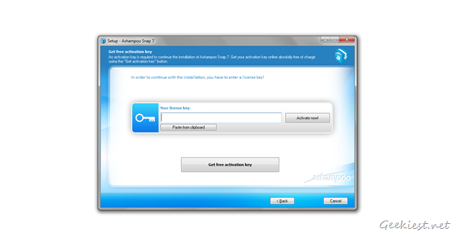 Get Free Activation key