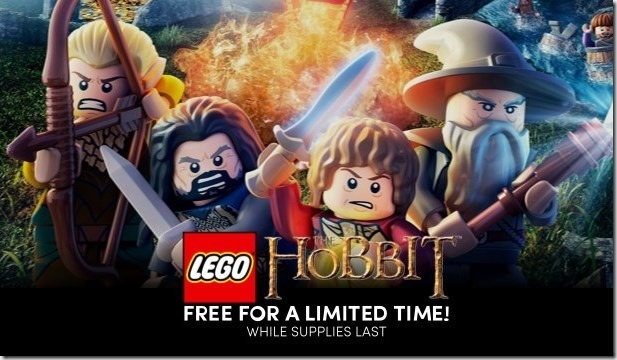 Get Lego The Hobbit free from Humble Bundle