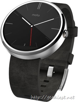 Get Moto 360 with INR 5000 discount