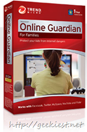 Giveaway - 1000 copies of Trend Micro Online Guardian each worth $49.95 value