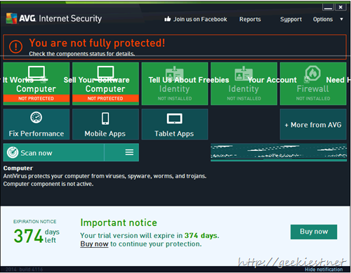 Giveaway - AVG Internet Security 2014