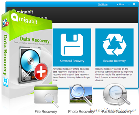 Giveaway - Amigabit Data Recovery full version licens