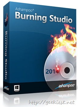 Giveaway - Ashampoo Burning Studio 2014 unlimited licenses
