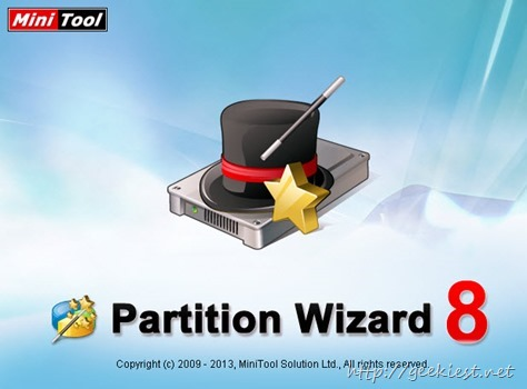 Giveaway - MiniTool Partition Wizard Professional Edition