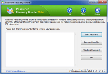 Giveaway - Password Recovery Bundle 2014– complete password recovery software
