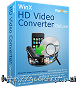 Giveaway - WinX HD Video Converter Deluxe full version license worth USD 35.95