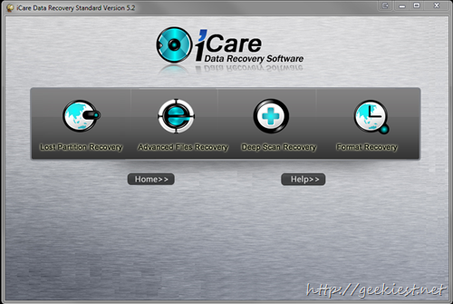 Giveaway - iCare Data Recovery Standard 5.2