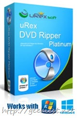 Giveaway - uRex DVD Ripper Platinum life time license