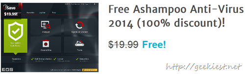 Giveaway Free Ashampoo Anti-Virus 2014 full version licenses