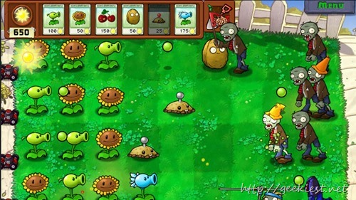 Giveaway Plants vs. Zombies Game of the Year Edition