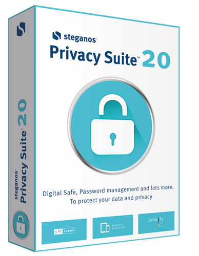 Giveaway Steganos Privacy Suite 20–Anniversary Edition