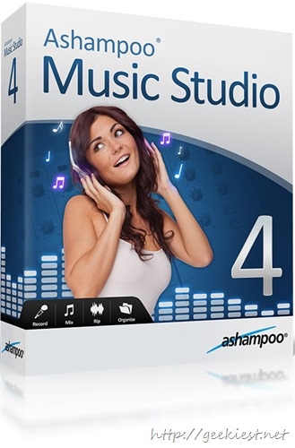 Giveaway free Ashampoo Music Studio 2013 full version license