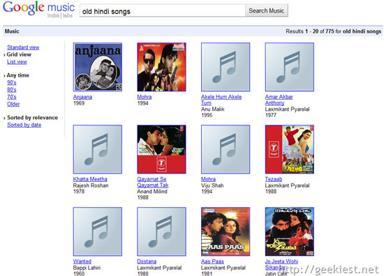 Google India introduces Music Search[6]