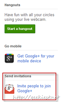 Google plus invitaion how to and get one