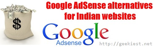 Google AdSense alternatives for Indian traffic