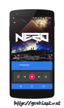Gramophone [Beta]–A beautiful Android Music player