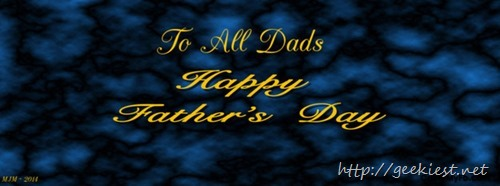 Happy Fathers Day Facebook Cover photos - 1