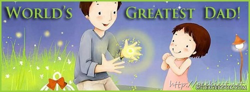 Happy Fathers Day Facebook Cover photos - 3