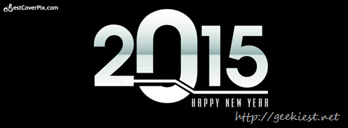 Happy New Year Facebook covers 2015 - 1